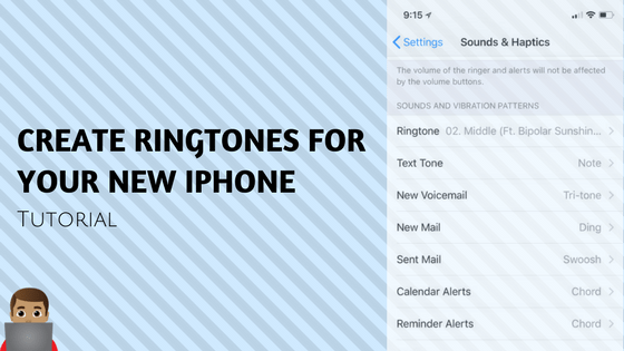 create your iphone ringtone