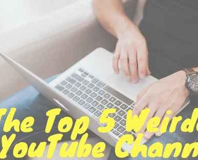 weird youtube channels