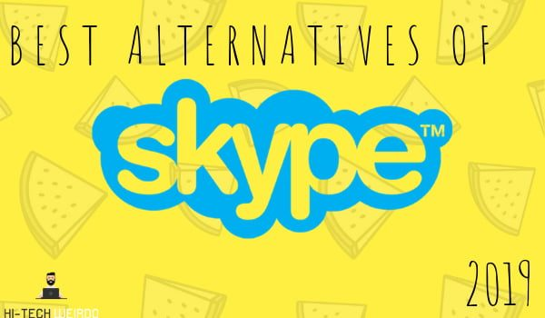 Best Alternatives of skype 2019