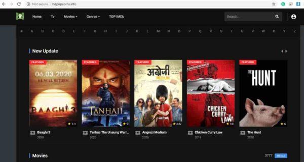 HDPopcorns unblocked movies