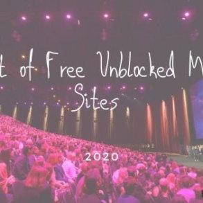 Free Unblocked Movie Sites 2020