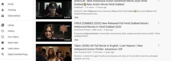 Youtube unblocked movies