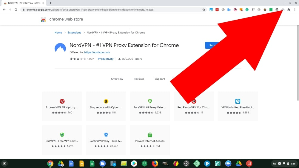 nord chrome extension