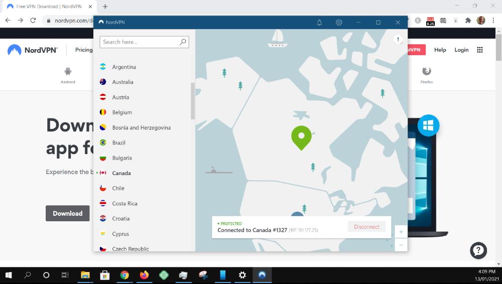 download nordvpn windows