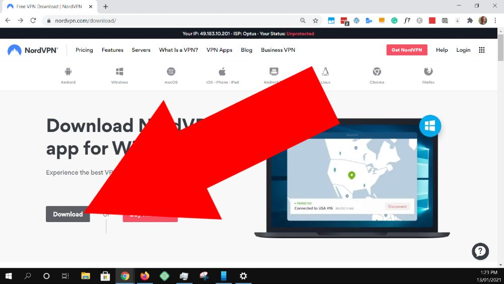 how to add nordvpn to windows 10
