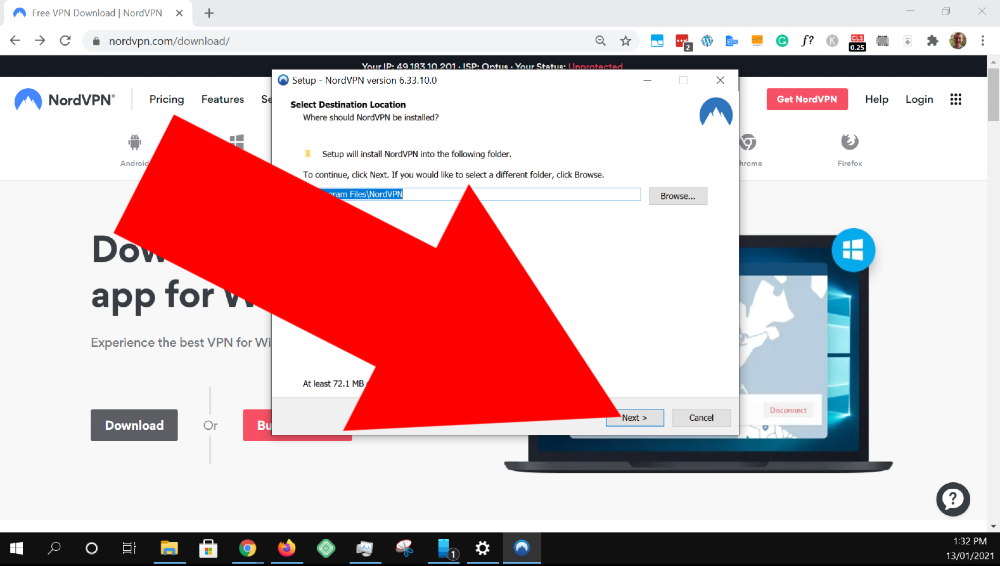 how to setup nordvpn windows 10