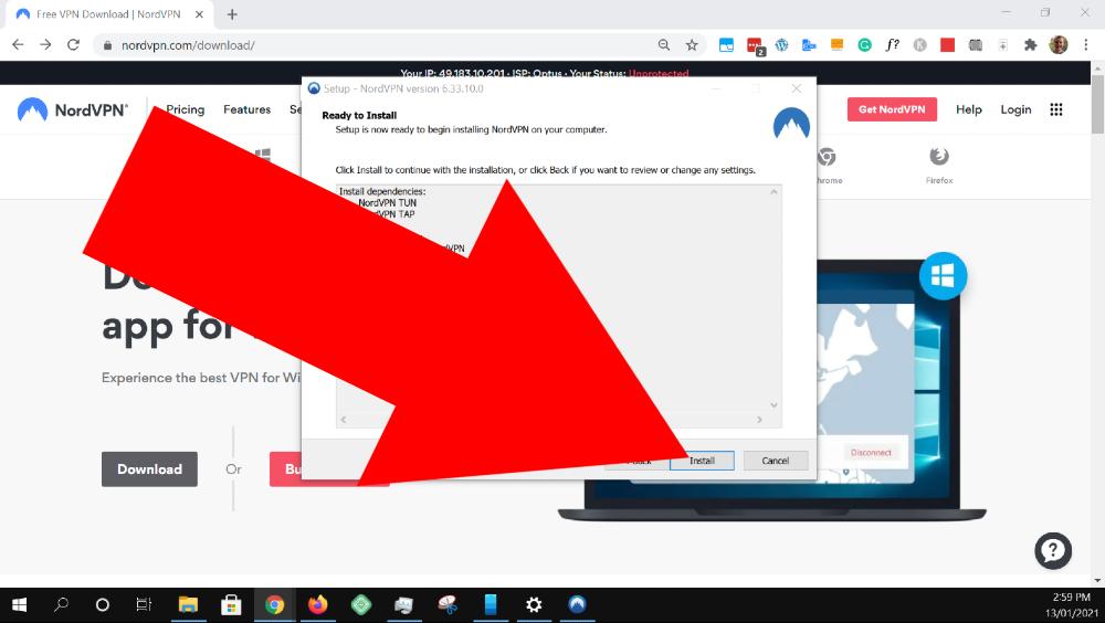 how to use nordvpn on windows 10