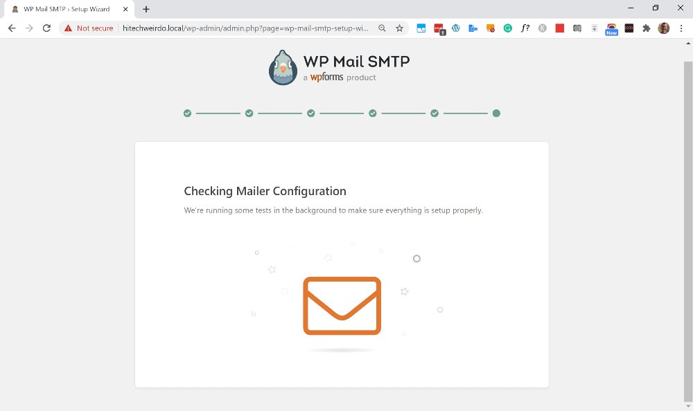 contact form 7 smtp settings