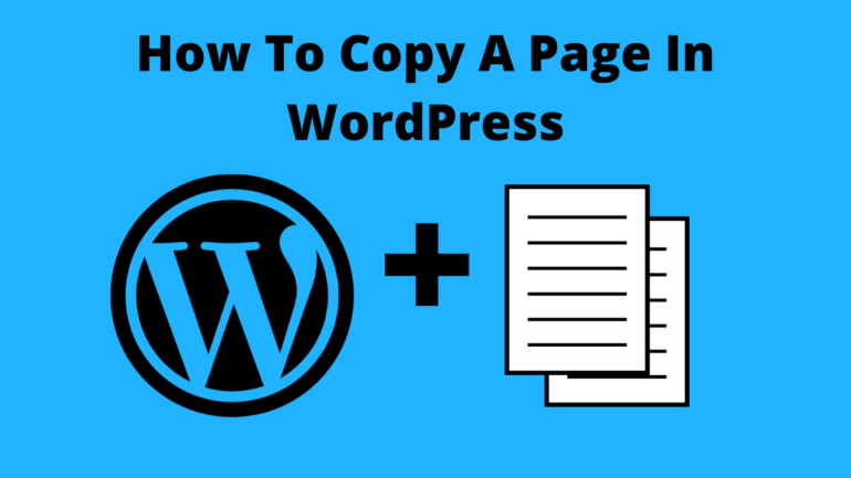 How To Copy A Page In WordPress