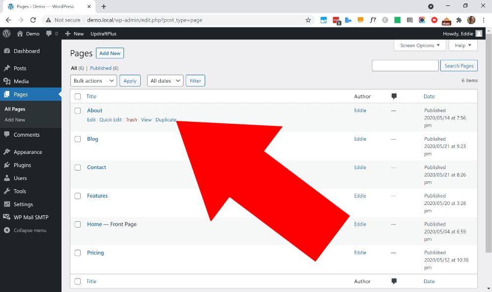 how to duplicate post in wordpress