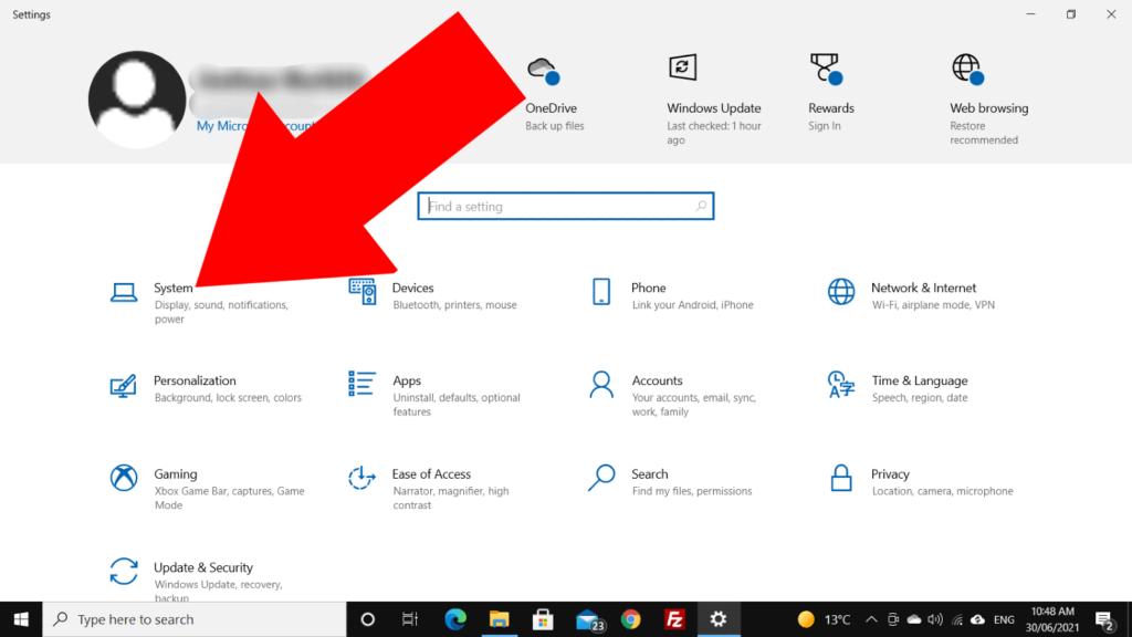 how to change pc name windows 10