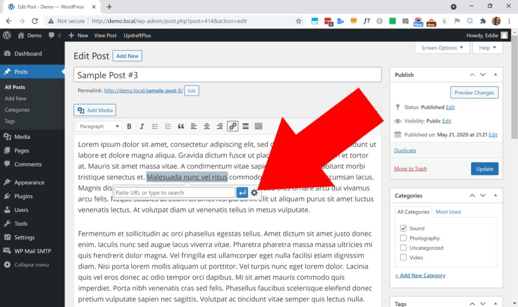 nofollow external links wordpress plugin