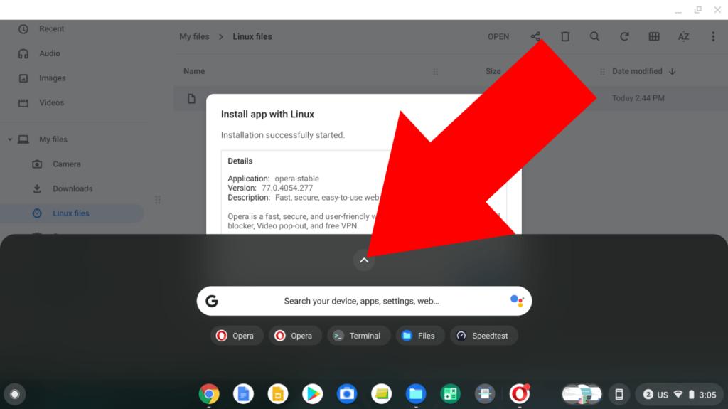 opera mini browser for chromebook