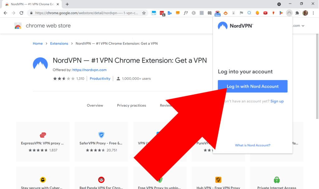 nord extension for chrome